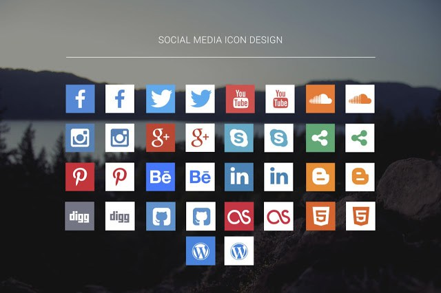social_media_icon_design
