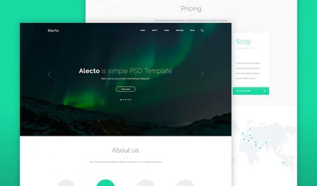 alecto-psd-template-template
