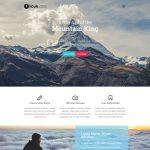 mountain html5 template