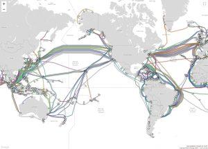 كابلات الانترنت البحرية