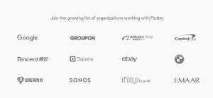شركات تستخدم فلاتر Flutter